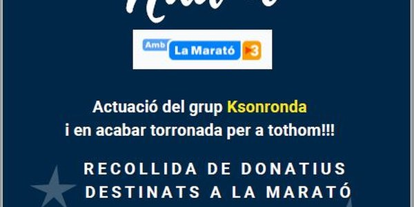 La Marató 2018