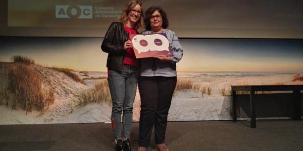 Foradada rep el tercer premi de la III edició dels Reconeixements d'Administració Electrònica de Catalunya