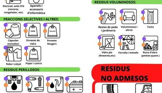 INFORMACIÓ RESIDUS DEIXALLERIES